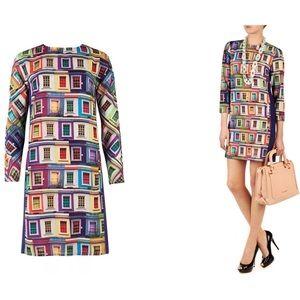 Ted Baker London Jupi Window Print Dress Sz 2